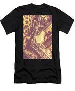 Machine Guns Men's T-Shirt (Athletic Fit)