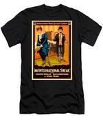 Mack Sennett Comedy - An International Sneak 1917 Men's T-Shirt (Athletic Fit)