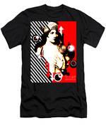 Madam Stripe Men's T-Shirt (Athletic Fit)