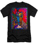 Magdalena On Fire - Mask - Abstract Face Men's T-Shirt (Athletic Fit)