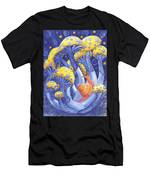 Magic Mushrooms Men's T-Shirt (Athletic Fit)