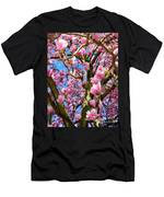 Magnolia Tree Beauty #3 Men's T-Shirt (Athletic Fit)