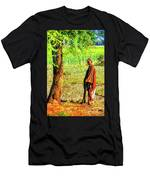 Man In Shade Men's T-Shirt (Athletic Fit)