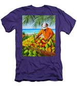 Manuel The Fruit Vendor At The Beach Men's T-Shirt (Athletic Fit)