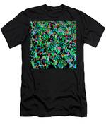 March Of The Flowers Men's T-Shirt (Athletic Fit)