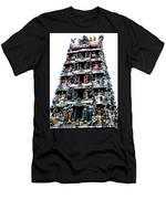 Mariamman Temple 1 Men's T-Shirt (Athletic Fit)