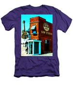 Memphis Sun Studio Birthplace Of Rock And Roll 20160215sketch Men's T-Shirt (Athletic Fit)