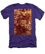 Messy Bike Workshop Men's T-Shirt (Athletic Fit)
