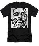 Metal Face 2 Men's T-Shirt (Athletic Fit) by Darren Cannell