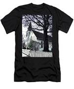 Methodist Church On City Island Men's T-Shirt (Athletic Fit)