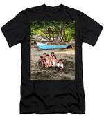 Mia-gao Fishing Children 1 Men's T-Shirt (Athletic Fit)