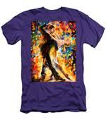 Midnight Tango Men's T-Shirt (Athletic Fit)