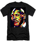 Mike Tyson Abstract Men's T-Shirt (Athletic Fit)