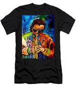 Miles Davis Hot Jazz Portraits By Carole Spandau Men's T-Shirt (Athletic Fit)