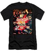 Miller Racing Sign 25th Year Men's T-Shirt (Athletic Fit)