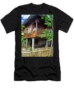 Minahasa Traditional Home 2 Men's T-Shirt (Athletic Fit)