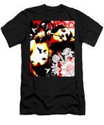 Mischievious Hummingbird Men's T-Shirt (Athletic Fit)