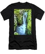 Moine Creek Goes Vertical Men's T-Shirt (Athletic Fit)