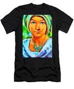Mona Lisa Young - Da Men's T-Shirt (Athletic Fit)