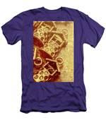 Monetary Wells Men's T-Shirt (Athletic Fit)