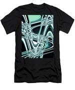 Moveonart Intentionally Abstract Movement Men's T-Shirt (Athletic Fit)