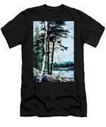 Muskoka Morning Men's T-Shirt (Athletic Fit)