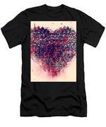 My Bleeding Heart  Men's T-Shirt (Athletic Fit)