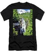 Myrtle Falls And Mount Rainier Men's T-Shirt (Athletic Fit)