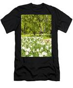 Narcissus In Apple Garden Men's T-Shirt (Athletic Fit)