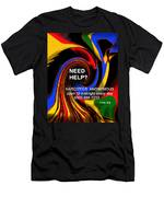 Narcotics Anonymous Poster Men's T-Shirt (Athletic Fit)
