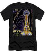 Needle And The Firefly Men's T-Shirt (Athletic Fit)