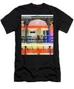 New Orleans French Quarter Balcony Men's T-Shirt (Athletic Fit)