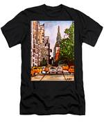 New York City Taxis Men's T-Shirt (Athletic Fit)