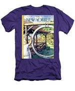 New Yorker August 22 1953 Men's T-Shirt (Athletic Fit)