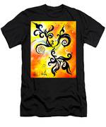 Nirvana Zen Yellow Way To Eternity Men's T-Shirt (Athletic Fit)