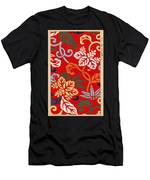 Nishike Brocade With Paulownia Arabesque Men's T-Shirt (Athletic Fit)