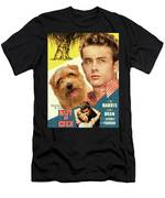 Norfolk Terrier Art Canvas Print - East Of Eden Movie Poster Men's T-Shirt (Athletic Fit)