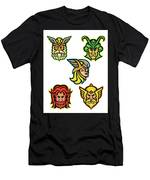 Norse Gods Mascot Collection Men's T-Shirt (Athletic Fit)