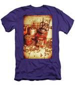 Old Bean Mill Decor. Kitchen Art Men's T-Shirt (Athletic Fit)