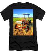 Old David Brown Tractor  Men's T-Shirt (Athletic Fit)
