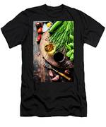 Organic Vegetables And Spices Men's T-Shirt (Athletic Fit)
