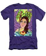 Our Lady Of Self-actualization Men's T-Shirt (Athletic Fit)