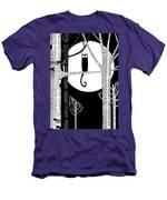 Owl Impression Men's T-Shirt (Athletic Fit)