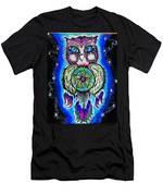 Owl No Uv Men's T-Shirt (Athletic Fit)