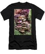 Painted Mushrooms Men's T-Shirt (Athletic Fit)
