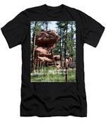 Painted Rock 2 Men's T-Shirt (Athletic Fit)