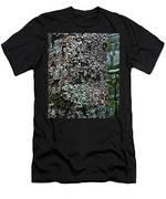 Painted Treebark Woodcut Men's T-Shirt (Athletic Fit)