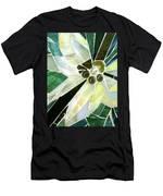 Palm Flower Mosaic Men's T-Shirt (Athletic Fit)