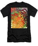 Palm Patterns 2 Men's T-Shirt (Athletic Fit)