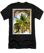 Palm Portrait Men's T-Shirt (Athletic Fit)